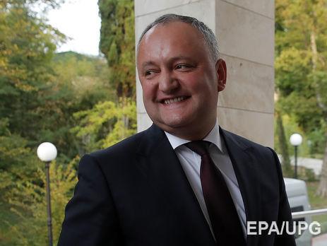 Додон рассчитывает, что Молдавия не будет членомЕС