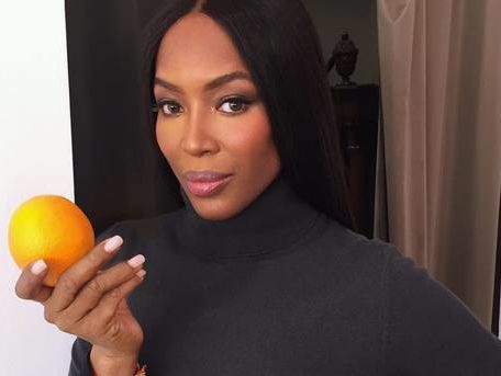 Picture perfect romance between supermodel Naomi Campbell