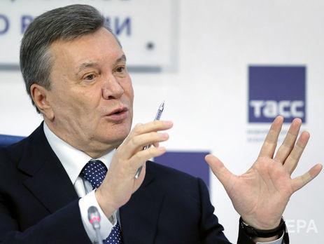 Янукович провел первую пресс-конференцию с февраля 2017 года, на ней присутствовали журналисты из 10 стран