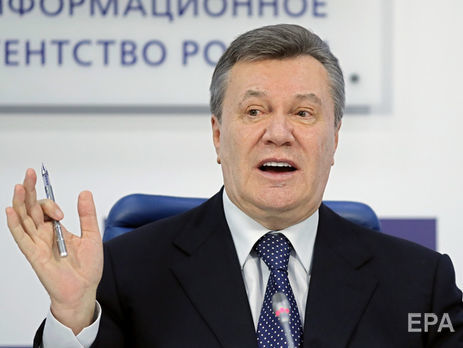 Янукович: В Украине творится беззаконие, которого никогда не было
