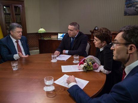 Порошенко провел переговоры свице-президентом США