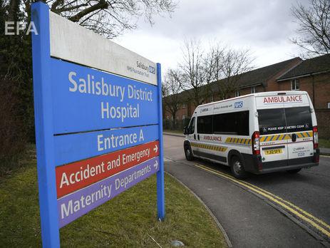 Окружна лікарня Солсбері, де перебуває троє постраждалих унаслідок замаху на Скрипаля