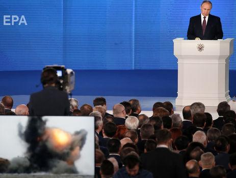 Копка: Путін, як фокусник із капелюха, демонстрував здивованій і захопленій публіці все нові й нові дива, створені російським ВПК