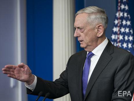 Мэттис обозначил  заинтересованность Талибана вмирных переговорах сКабулом