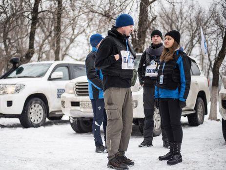Миссия ОБСЕ пообщалась с пострадавшими в результате взрыва в Донецке