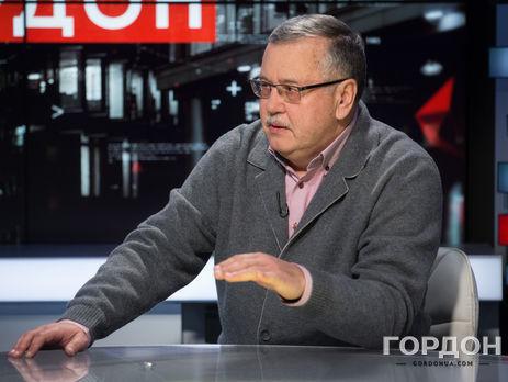 Гриценко: Турчинов был гарантом территориальной целостности государства, а не гарантировал ее. За это – от 12 до 15 лет, такие показания я дал прокуратуре