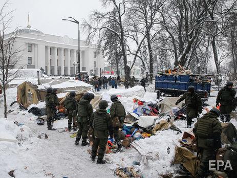 Аваков: Я не нахожу возможным, чтобы в 100 метрах от ВР находилась палатка, в которой лежат гранаты