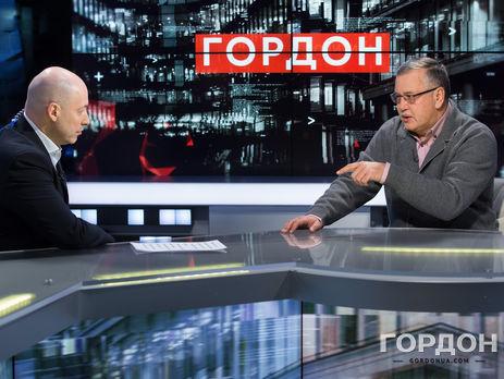 Гриценко: Я міг критикувати Януковича, Сашу-стоматолога, який виривав зуби всьому бізнесу, але мав доступ на всі канали. Закрив їх для мене саме Порошенко