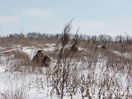 Украинских военных обстреливали на донецком и луганском направлениях