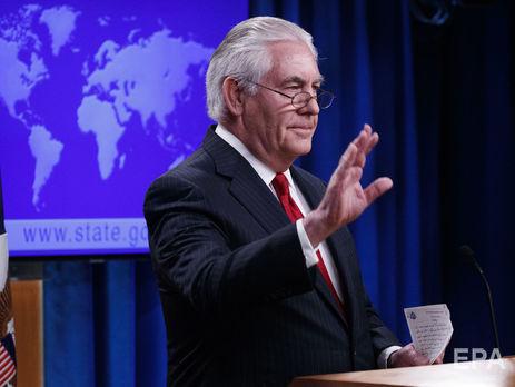 Тиллерсон предупредил РФ о вероятности дальнейшей изоляции
