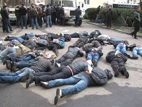 Правоохранители задержали 74 человека в ходе штурма облгосадминистрации в Харькове в апреле 2014 года