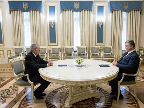 Президенты Украины и Австрии обсудили ситуацию на Донбассе