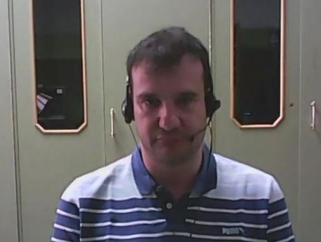 Хосе Карос Барриос Санчес во время интервью RT Spanish в мае 2014 года