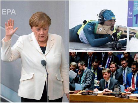 Українським збірним заборонили участь у змаганнях в РФ, Британія висилає російських дипломатів, Меркель знову канцлер. Головне за день