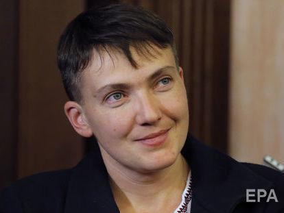 Савченко 15 марта намерена провести брифинг под стенами СБУ