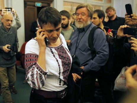 Савченко фигурирует на видео, где обсуждается нападение на парламент – СМИ