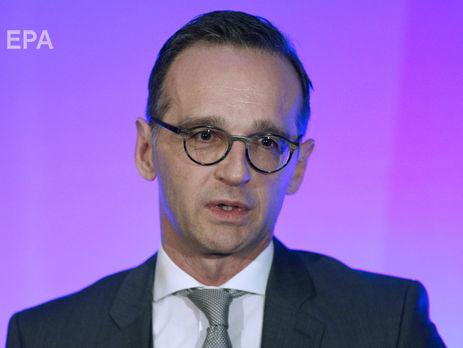 Новый глава МИД Германии Маас: С аннексией Крыма Россией и длительной агрессией против Украины мириться нельзя