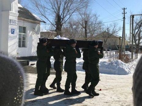 В России с почестями похоронили погибшего в Сирии артиллериста, о гибели которого Минобороны РФ не сообщало - CIT