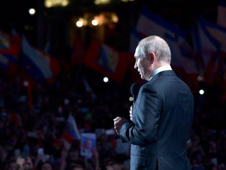 Путин заявил, что Крым был передан Украине