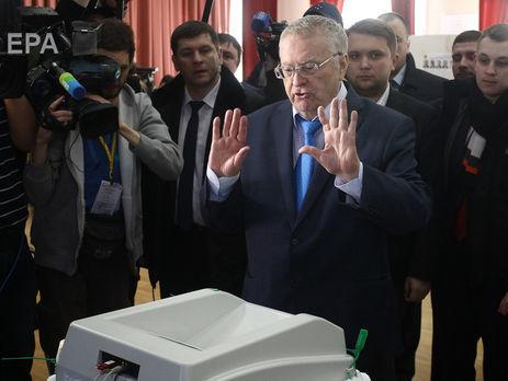 Это последние выборы президента РФ — Жириновский