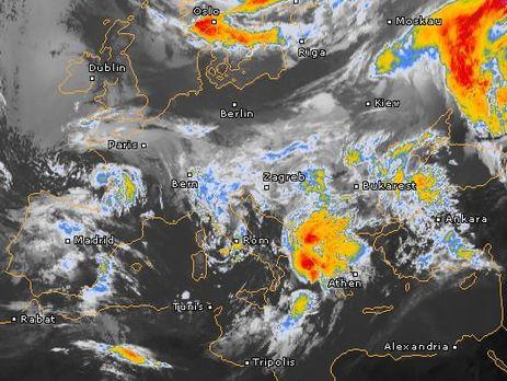Диденко рассказала о циклоне с юга