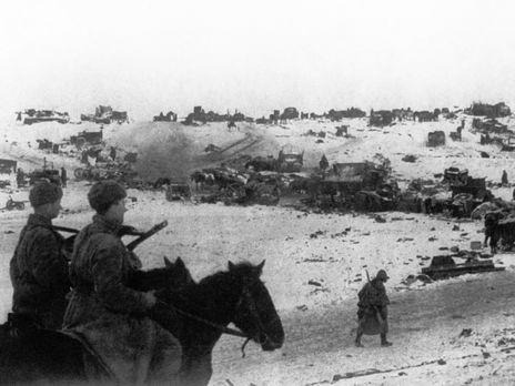 Під час відступу німців поблизу Кам'янця-Подільського у березні 1944 року