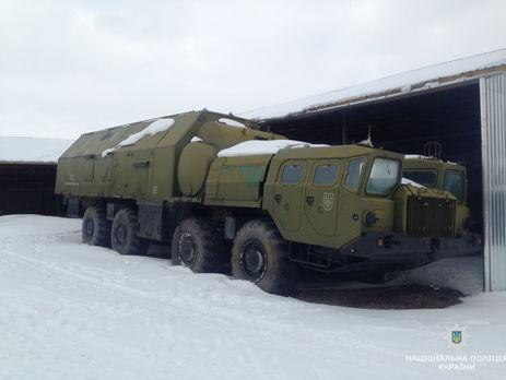 ГПУ спростувала заяву поліції про розкрадання військової техніки наЖитомирщині
