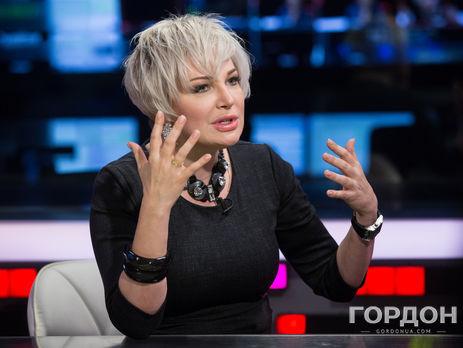 Максакова: Украина по-настоящему религиозная страна. Здесь все прекрасно знают, что такое год траура. Никто не позволяет себе нарушать мой покой
