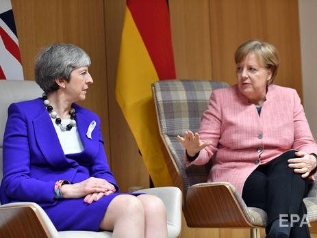 Мэй иМеркель договорились совместно противоборствовать «усилившейся агрессии России»