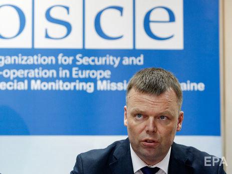 Хуг закликав нестріляти убезпілотники ОБСЄ наДонбасі