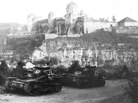 Каменец-Подольский весной 1944 года
