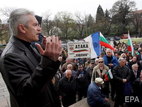 Сидеров виступає за вихід Болгарії з НАТО і Європейського союзу