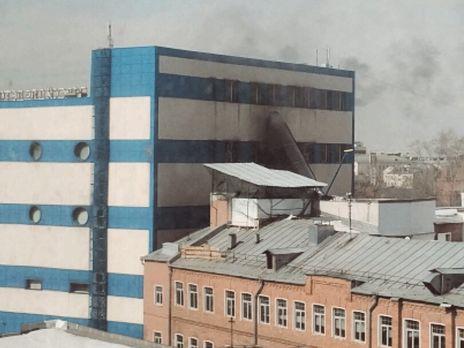 УМоскві горить торговий центр, є жертва тапостраждалі
