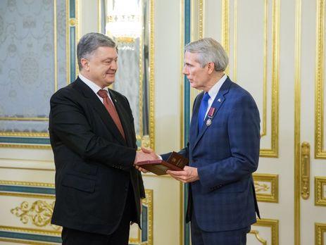 Порошенко и Портман провели встречу в Киеве и обсудили ситуацию на Донбассе