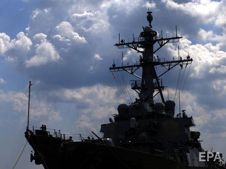 США направили ударную группу ВМС савианосцем кберегам Сирии