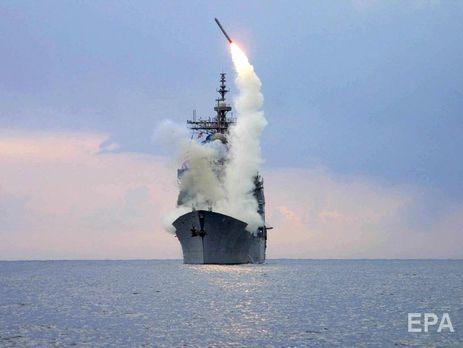 У Росії погрожують ударити по американських кораблях, які запустять ракети по цілях у Сирії