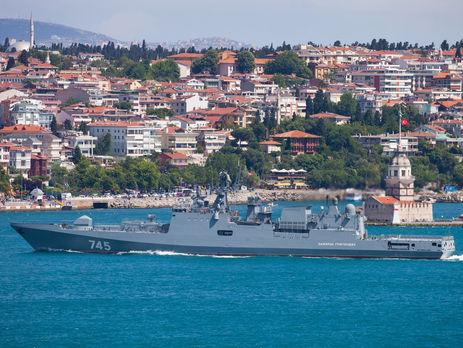 """Одним із кораблів, які покинули порт, став """"Адмірал Григорович"""""""