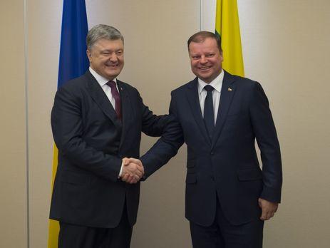 Премьер Литвы и руководитель МинВОТ посетили Авдеевку