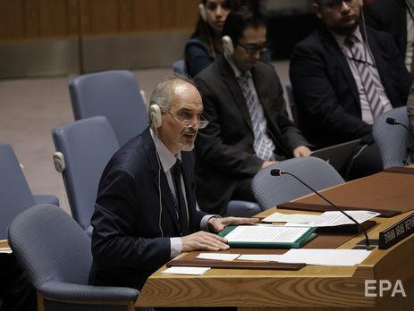 США вОрганизации Объединенных Наций  озвучили ультиматум сирийскому режиму