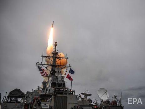 В ночь на 14 апреля США, Великобритания и Франция нанесли удары по трем объектам в Сирии