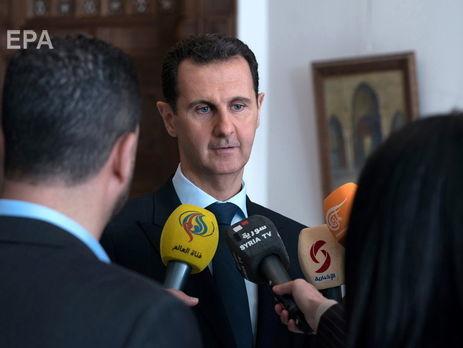 По словам Асада, дети рассказали ему о строительстве моста в Крыму