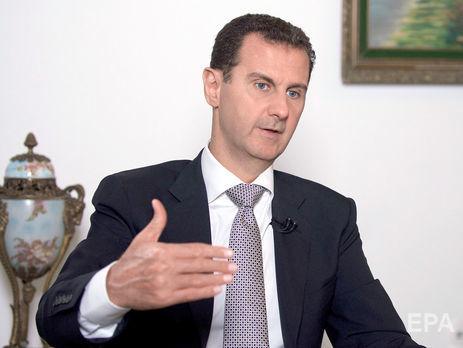 У Асада (на фото) трое детей: сыновья Хафез и Карим и дочь Зейн