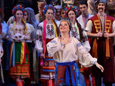 Максакова выступила в Национальной опере Украины