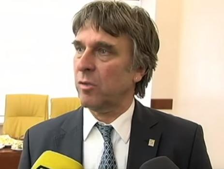 Новый президент украинской Премьер-лиги Гримм: Смотрел некоторые матчи УПЛ по телевидению, качество показа довольно хорошее