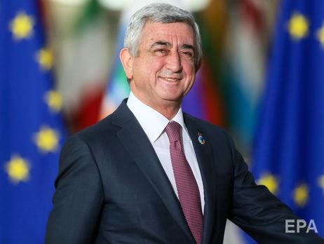 Саргсян был президентом Армении с 2008-го по 2018 годы