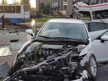 ДТП в Кривом Роге. Водитель Mazda прибавил скорость, потому что его сын опаздывал на автовокзал