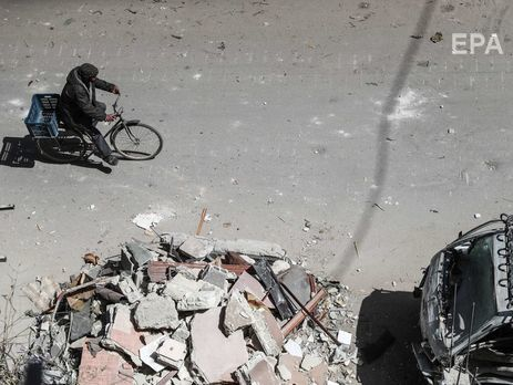 Російські військові заявили, що виявили в сирійському місті Думі хімічну лабораторію бойовиків