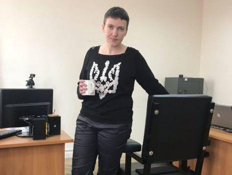 Завтра Савченко доставят в суд по делу об отборе биологических образцов