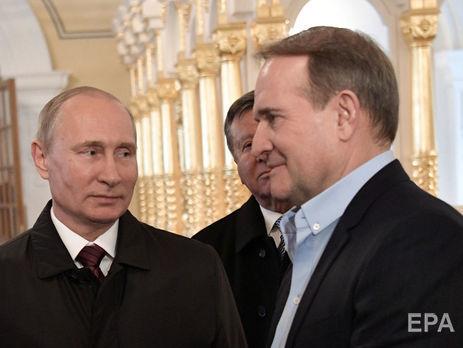 «Були нормальні ділові стосунки». Медведчук розповів, якобрав Путіна закума