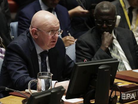 Небензя объявил освязи между инцидентом вСирийской Думе и«делом Скрипалей»